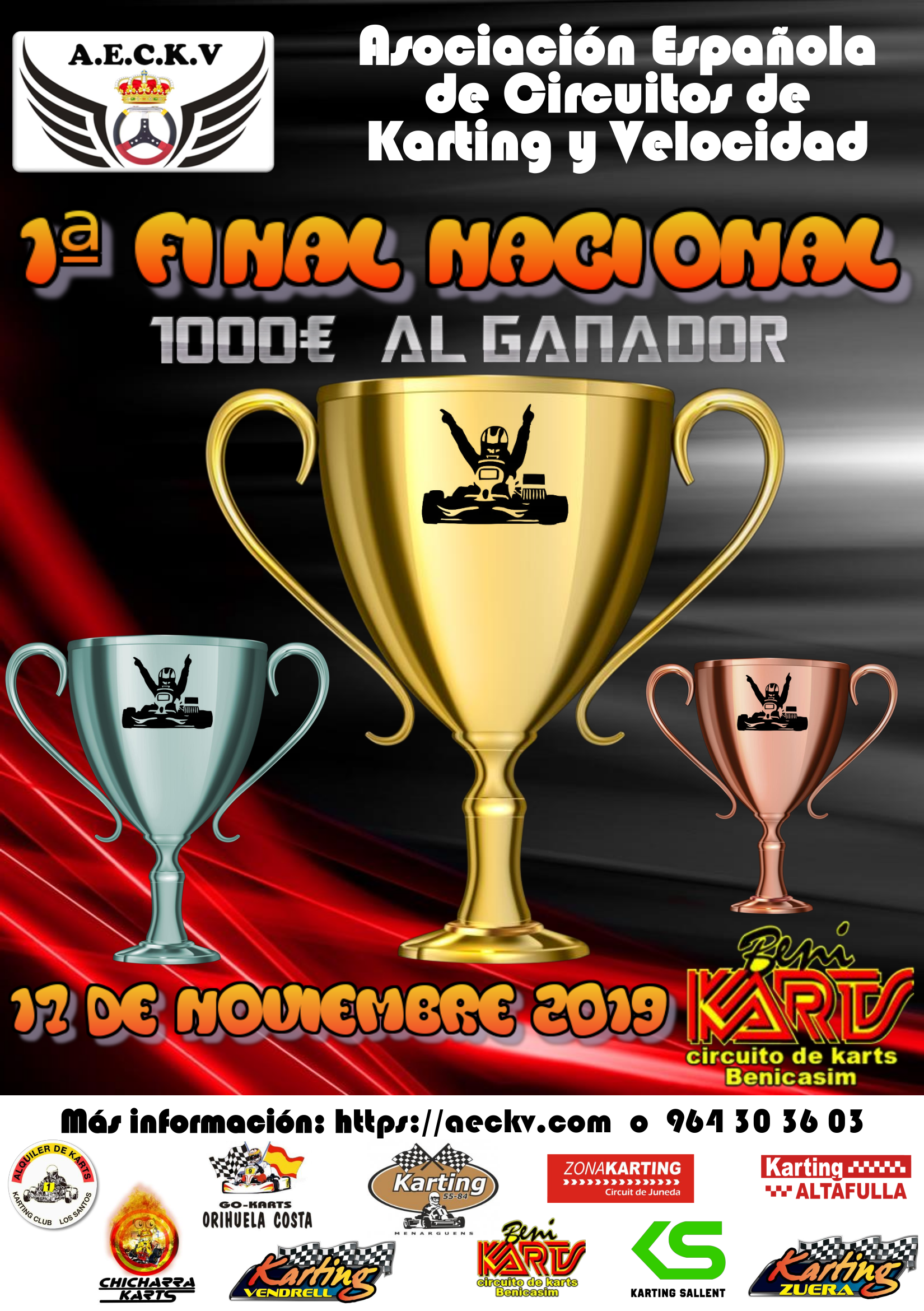 Cartel 1 Final en Benikarts